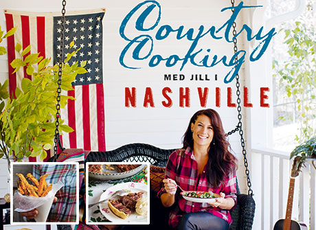 Country cooking med Jill i Nashville