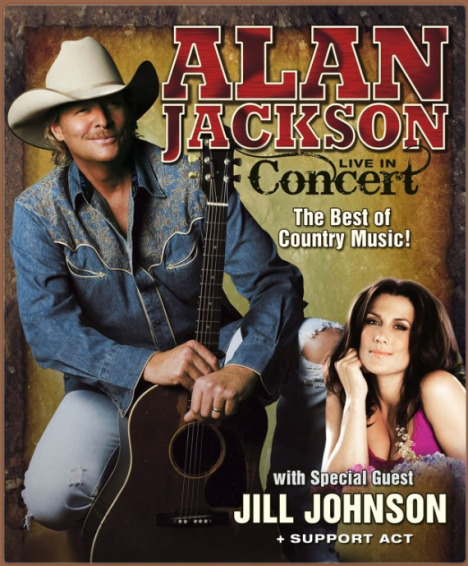 Support act Alan Jackson